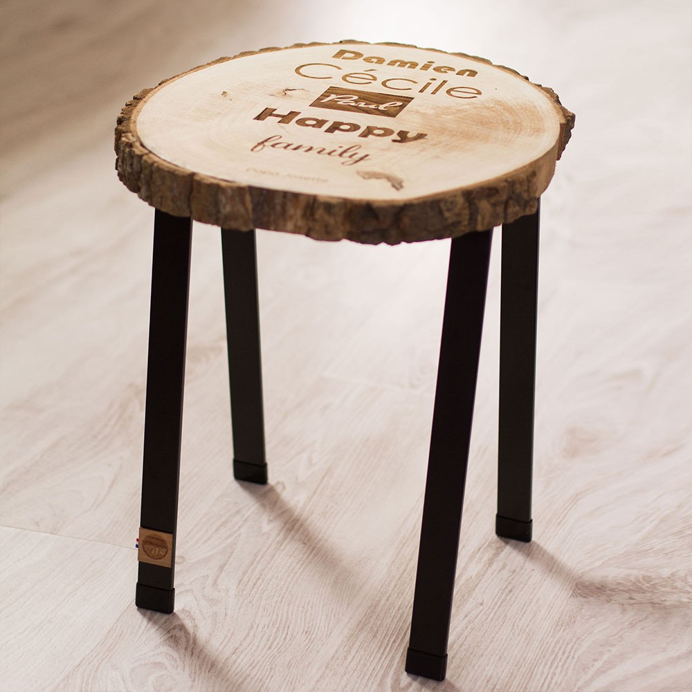 Tabouret/table d'appoint