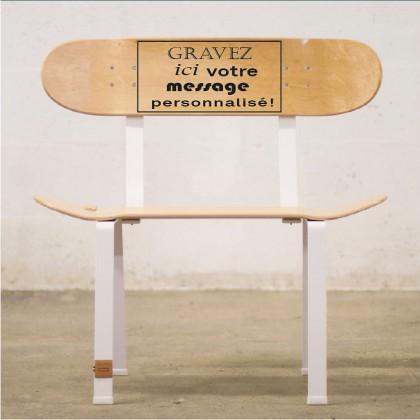 Chaise skateboard