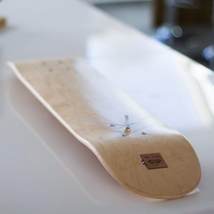 Customizable Skateboard Clock