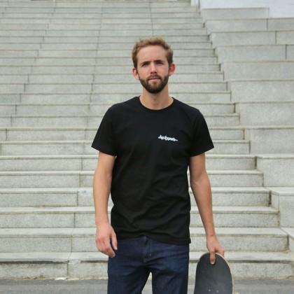 T-shirt Jackspots skateboard