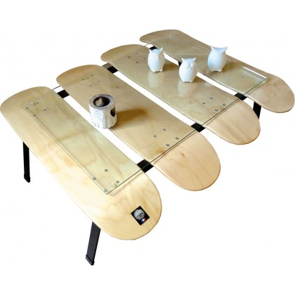 Table basse skateboards...