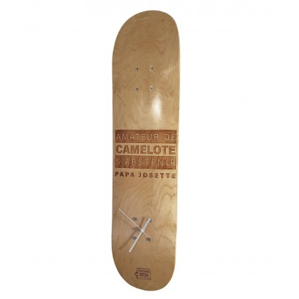 Horloge Skateboard à...