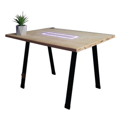 Table basse Orlin's lumineuse